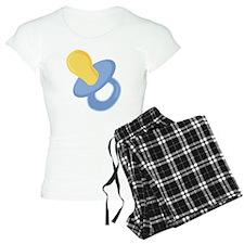 Baby Blue Pacifier Pajamas