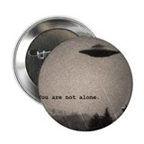 "Cute Flying saucer 2.25"" Button (100 pack)"