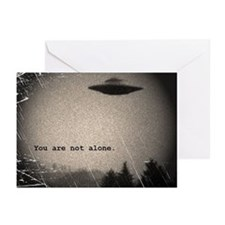 You Are Not Alone - large Greeting Cards