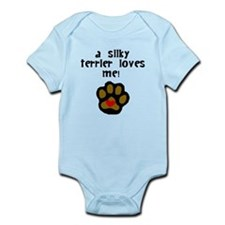 A Silky Terrier Loves Me Body Suit