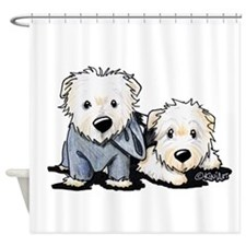 Griffin and Winston Shower Curtain