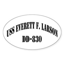 USS EVERETT F. LARSON Decal
