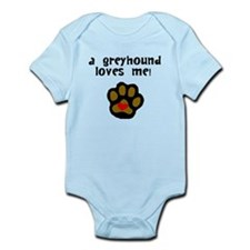 A Greyhound Loves Me Body Suit