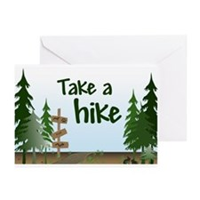 Take a hike Greeting Cards (Pk of 10)