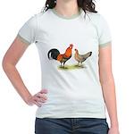 Red Junglefowl Jr. Ringer T-Shirt
