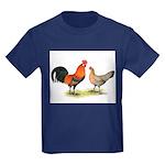 Red Junglefowl Kids Dark T-Shirt