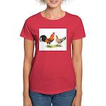 Red Junglefowl Women's Dark T-Shirt