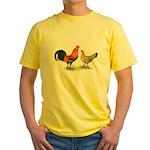 Red Junglefowl Yellow T-Shirt