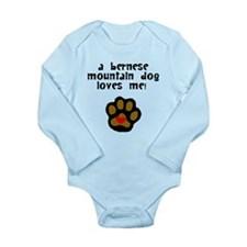 A Bernese Mountain Dog Loves Me Body Suit