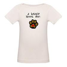 A Beagle Loves Me T-Shirt
