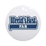 WB Dad [Norwegian] Ornament (Round)