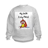 Uncle Firefighter Hero Sweatshirt