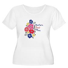 Worlds Best Mum Plus Size T-Shirt