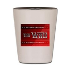 Build The Wall Shot Glass
