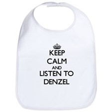 Keep Calm and Listen to Denzel Bib