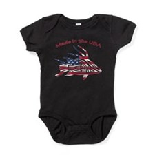 Made in the USA Tribal Hogfish Baby Bodysuit