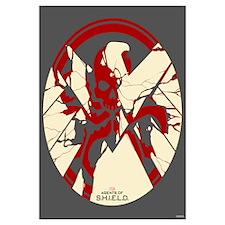 Marvel Hydra: Broken Shield Wall Art