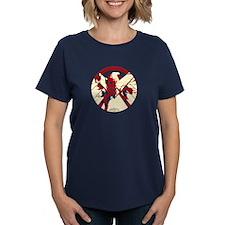 Marvel Hydra: Broken Shield Women's Dark T-Shirt