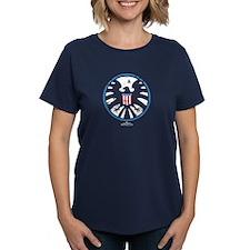 Marvel Agents of S.H.I.E.L.D. Women's Dark T-Shirt