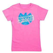 S.H.I.E.L.D. Distressed Girl's Tee