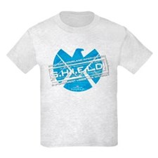 S.H.I.E.L.D. Distressed Kids Light T-Shirt