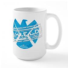 S.H.I.E.L.D. Distressed Large Mug