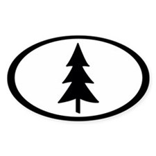 Tree Oval Decal