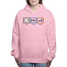 Eat Sleep Swim Women's Hooded Sweatshirt