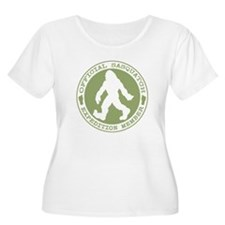 Official Sasquatch Member Plus Size T-Shirt