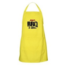Personalizable Bbq & Grilling Apron For Men