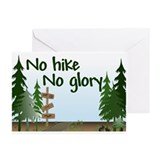 No Hike No Glory Greeting Cards (Pk of 10)