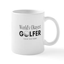Worlds Okayest Golfer | Funny Golf Mugs