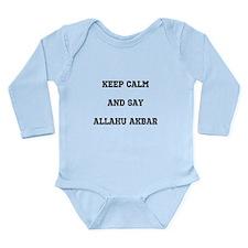 Keep Calm and Say Allahu Akbar Body Suit