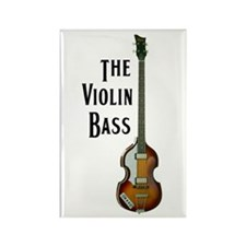 The Violin Bass Rectangle Magnet (10 pack)