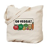 Go Veggie! Tote Bag
