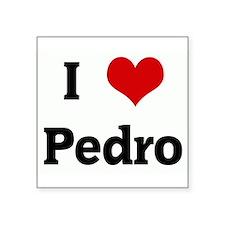 """Cute Pedro Square Sticker 3"""" x 3"""""""