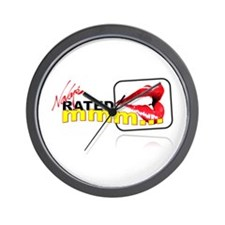 Rated mmm Logo Wall Clock