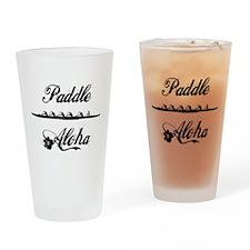 Paddle Aloha Kane Drinking Glass