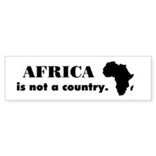 Funny South sudan Bumper Sticker