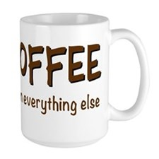 COFFEE then everything else Mugs