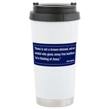 Cute Obama campaign Travel Mug
