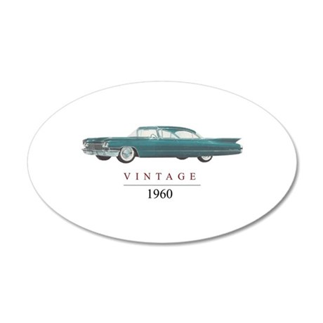 VINTAGE 1960 Wall Decal