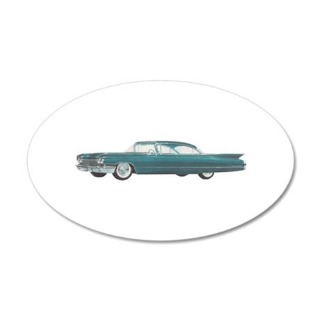 1960 Cadillac Deville Wall Decal