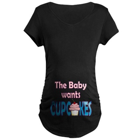 Pregnant Craving Maternity Dark T-Shirt