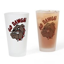 GO DAWGS! Drinking Glass