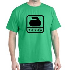 Curling stone stars T-Shirt