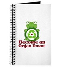 Organ donor recycle frog Journal
