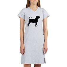 Puggle Dog Women's Nightshirt