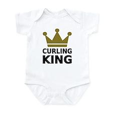 Curling king Infant Bodysuit