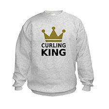 Curling king Sweatshirt
